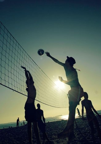Pallavolo in spiaggia! #Beach Volley Sunsets