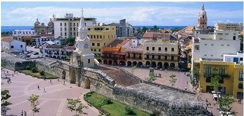 Ciudad Amurallada. Cartagena, Colombia