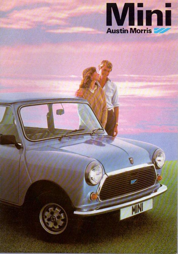 Austin Morris Mini HL - HL Estate - City Brochure c1980 12 Sided (C5)