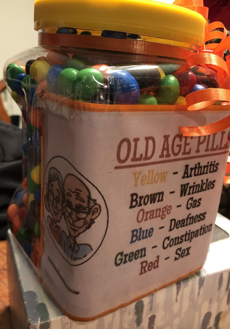 Peanut MM Old Age Pills Gag Gift Gag gifts M m gifts
