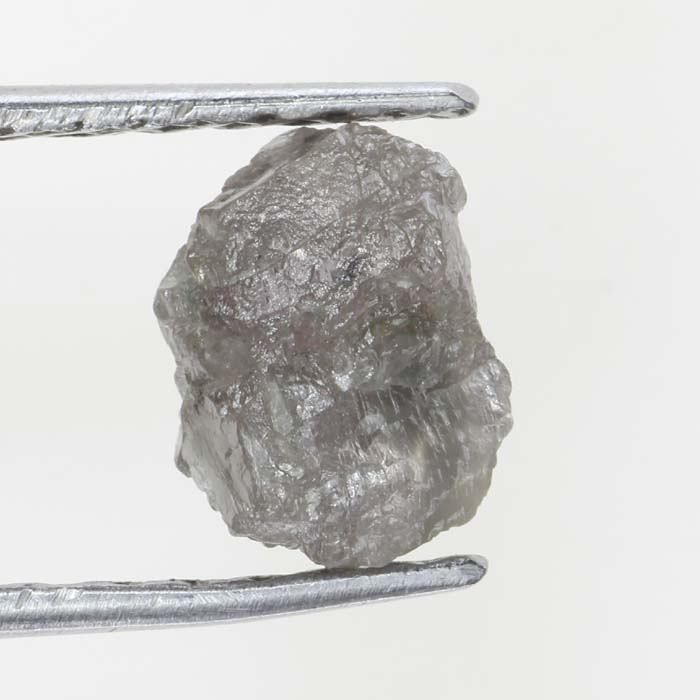 Natural Loose Amazing  Diamond Rough 0.68 Ct Uncut Shape Grayish Color