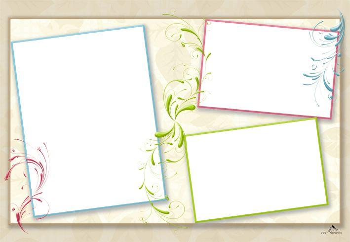Plantilla child 29x42 para la creaci n de foto libros - Marcos de fotos multiples ...