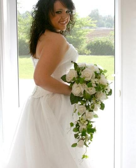 Love this gardenia wedding boquet