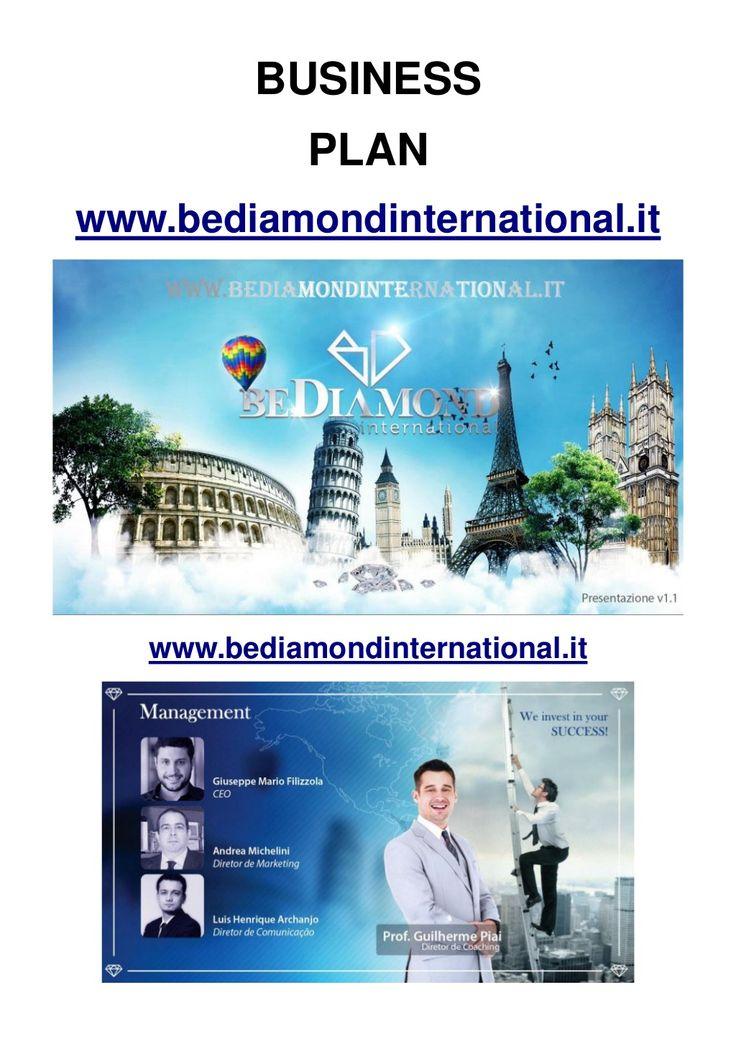 BeDiamond English Marketing Plan by BeDiamond International via slideshare