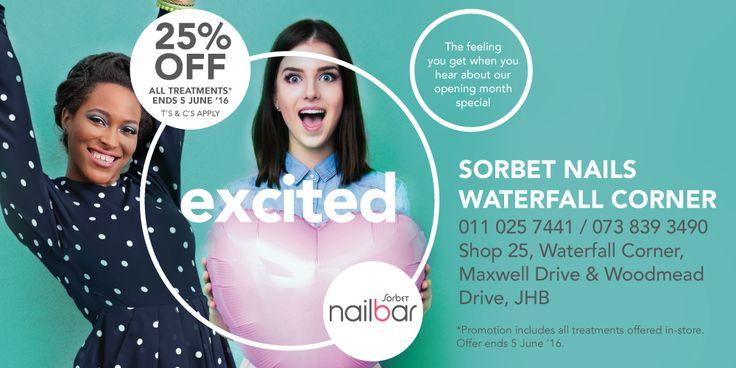 Sorbet   Sorbet Nails in Waterfall Corner now open!