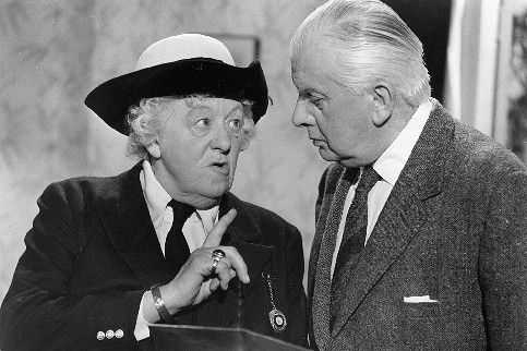 "Margaret Rutherford as Miss Marple in ""Murder Ahoy"""