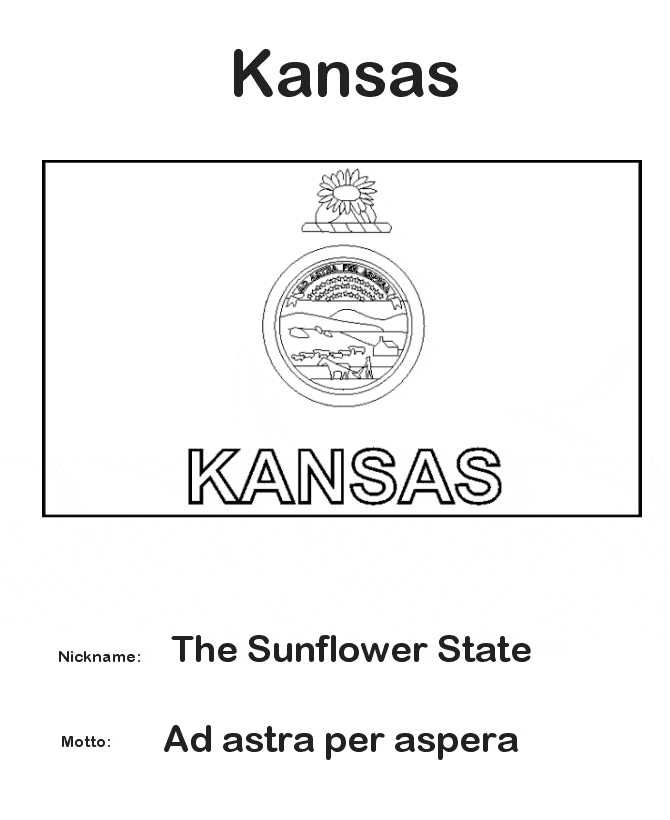Printable Kansas Day Coloring Pages Free Coloring Sheets Kansas Day Kansas Flag Flag Coloring Pages