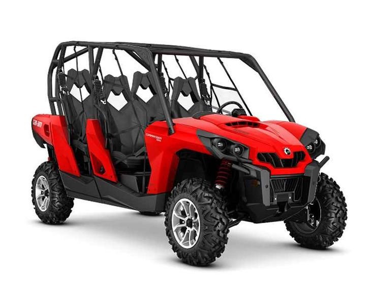 New 2016 Can-Am Commander Max DPS 800R ATVs For Sale in Michigan.
