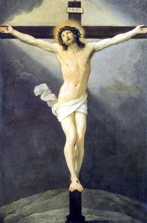 Guido Reni. Crucifixión, 1619. Óleo sobre lienzo. Galleria e Museo Estense, Módena. WikiPaintings.org