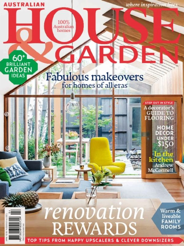 Australian House & Garden Magazine is come back with its latest April 2015 edition and there have a Renovation Rewards concept inside the issue.