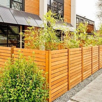 210 best Fences images on Pinterest | Backyard ideas, Garden fire ...