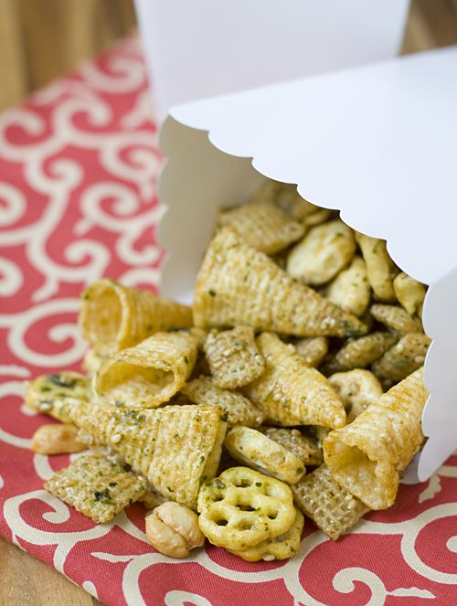 Chex Mix Arare   ~ Japanese Style Chex Mix~ YUM!!