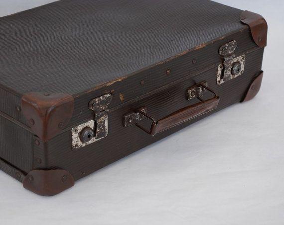 83 best Vintage suitcase's images on Pinterest | Vintage luggage ...