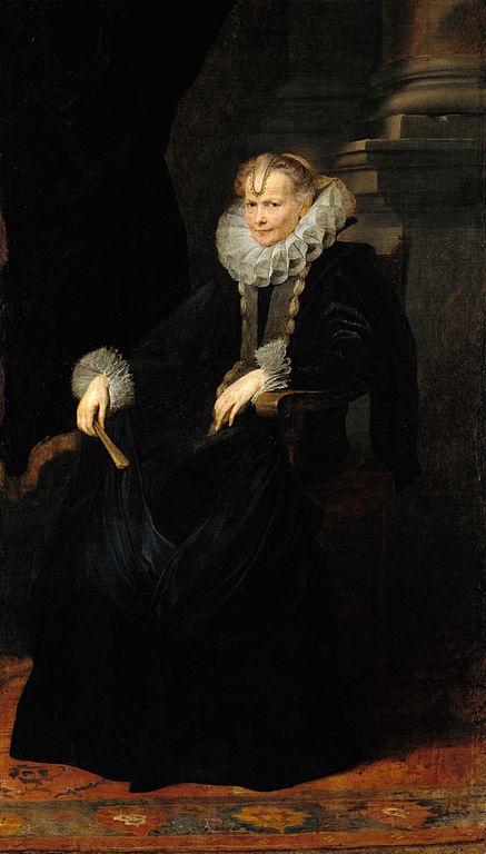 Portrait of a lady (Anton Van Dyck, circa 1620)