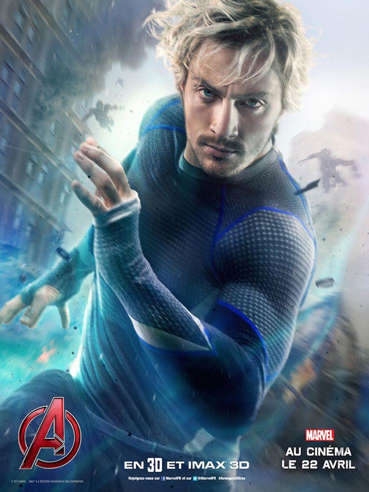 Aaron Taylor-Johnson est Quicksilver - Avengers l'ère d ...