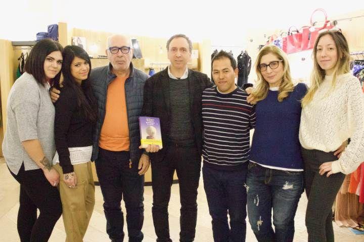 Ali Ehsani ospite della. Boutique Felice Casucci