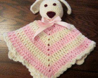 Crochet Animal Security Blanket Blanket Animal Blanket