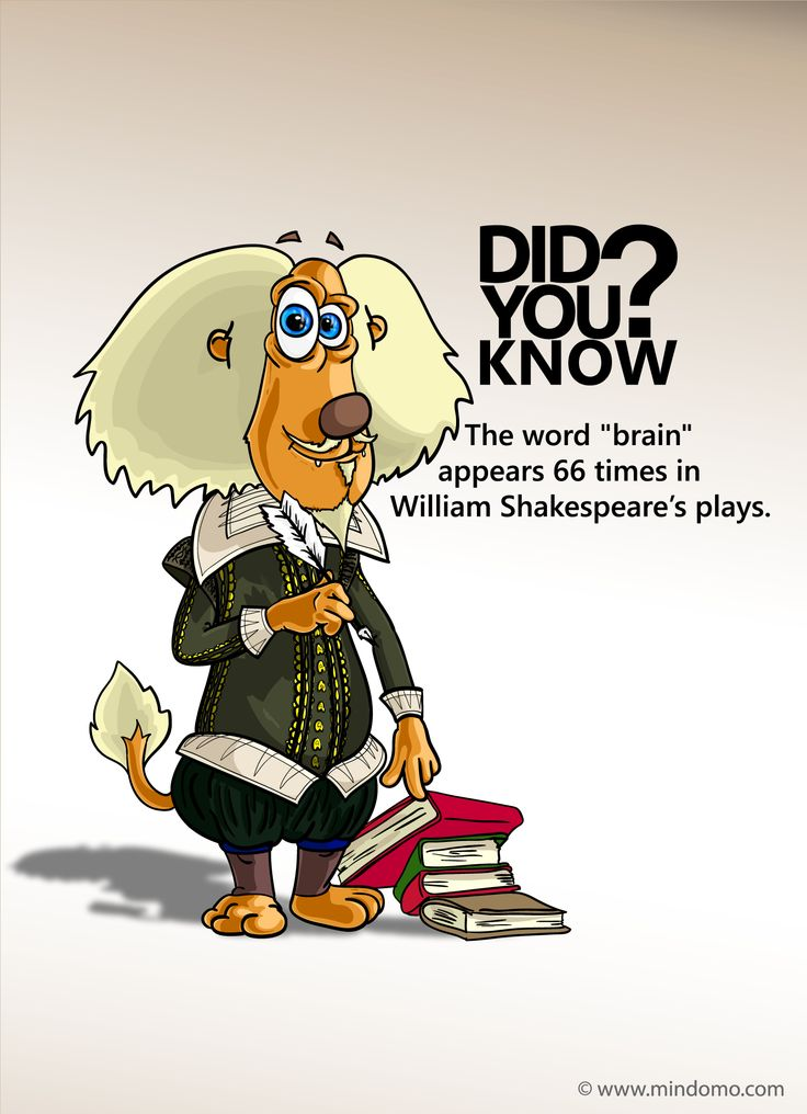 Albert's brainy fact, this time on literature.