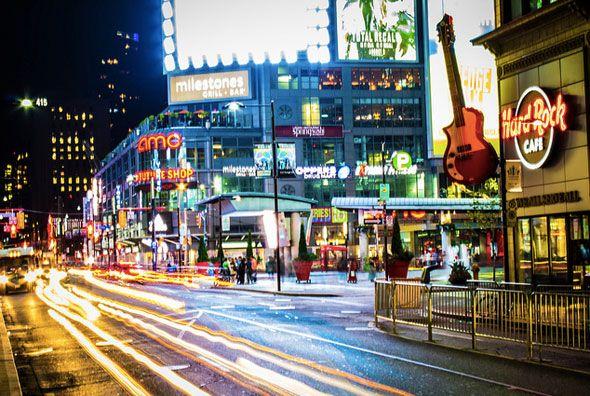 Yonge & Dundas Streets, Toronto, Ontario, Canada