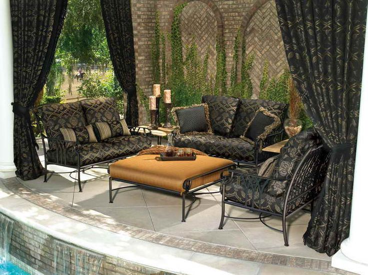 13 best patio curtain ideas images on pinterest - Patio Curtains Ideas