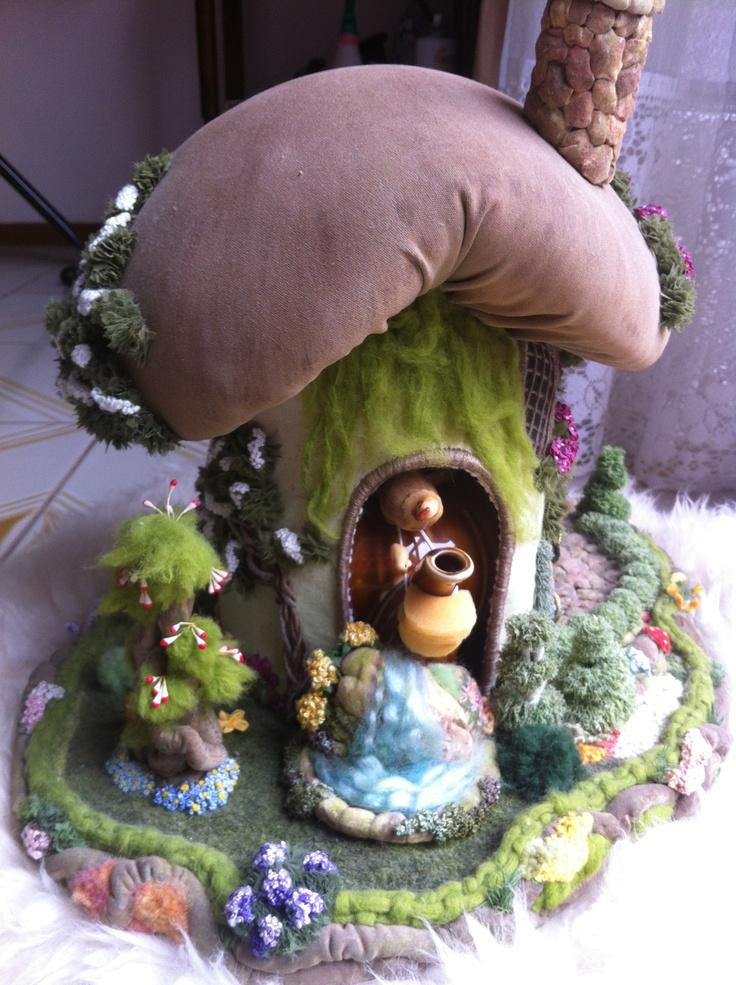 3D Embroidered Garden Tea Cosy