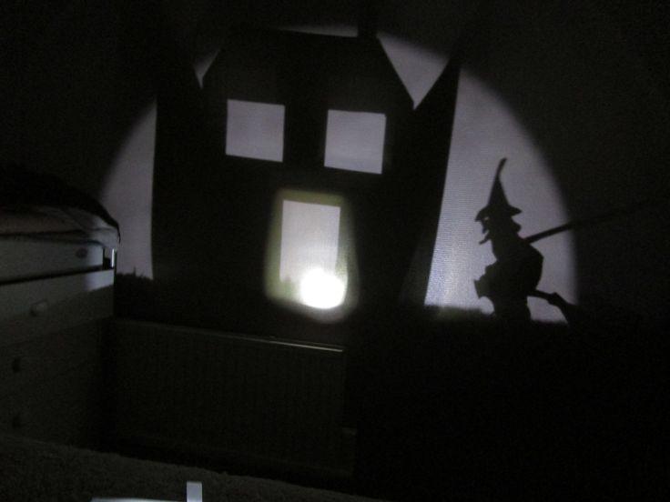 DIY: Jeux d'ombres sur le thème d'Halloween
