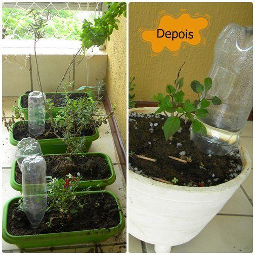 Como fazer Gotejador para plantas
