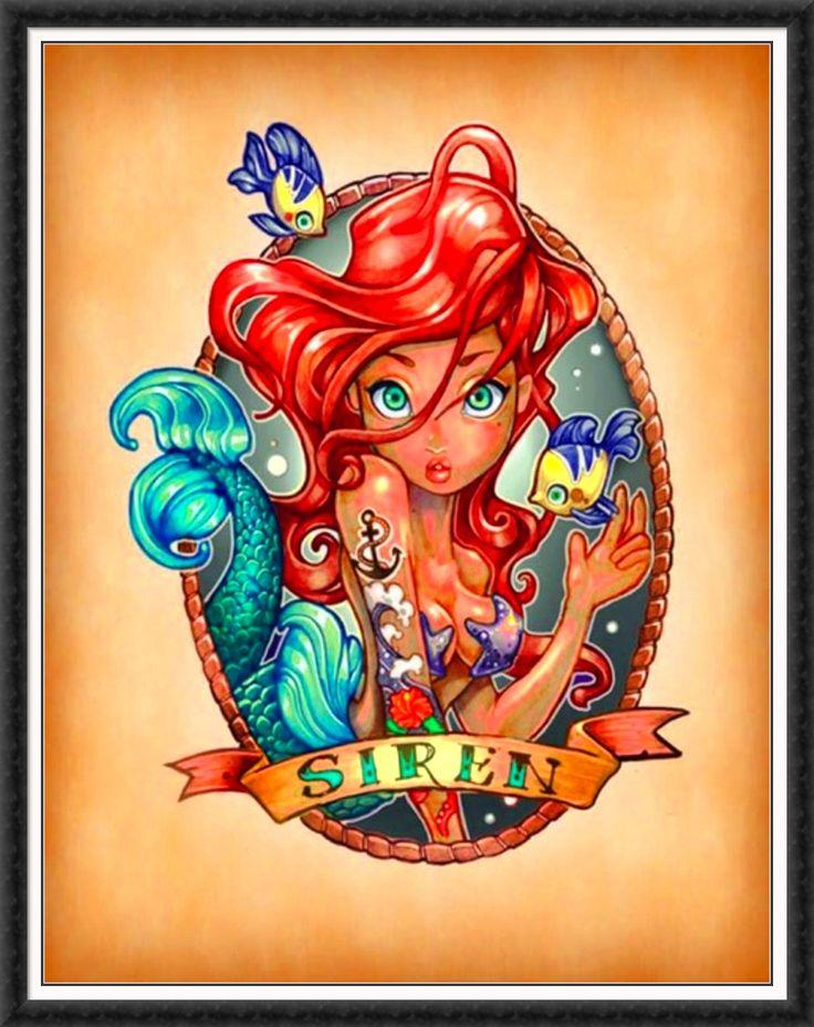 Disney tattoo princess tattoos pinterest for Princesas disney tattoo