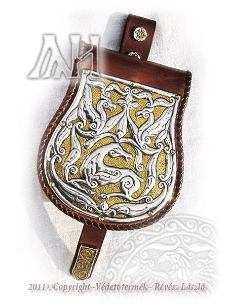Stag Purse - gold plated