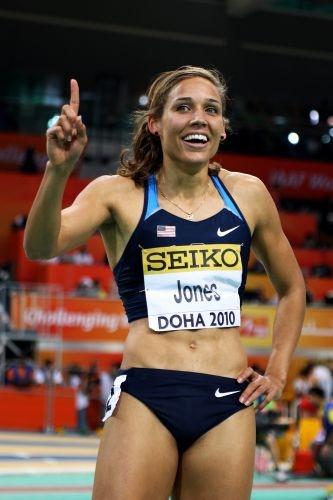 Lolo Jones é uma das favoritas ao ouro olímpico nos 100 m com barreiras em Londres-2012