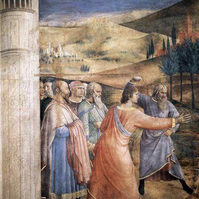 Fra Angelico - Martirio de San Esteban
