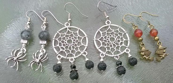 #Halloween sieraden #zelfmaken #DIY met #kralen