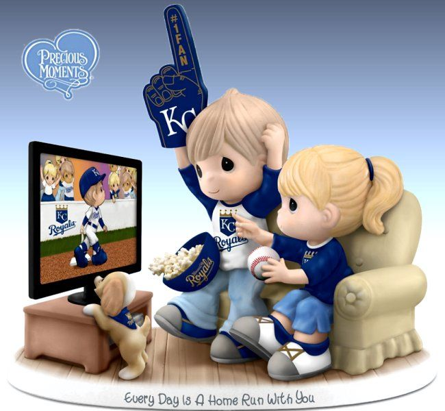 MLB Team Logo Merchandise - Collectibles, Posters and Wall Decals - carosta.com  - Kansas City Royals porcelain figurine