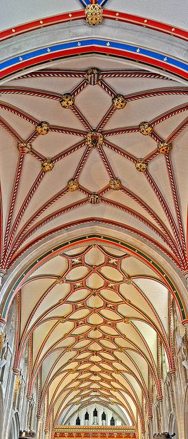 The Nave ceiling, St. Marys, Ottery St. Mary, Devon. | Peter, Phajus on flickr