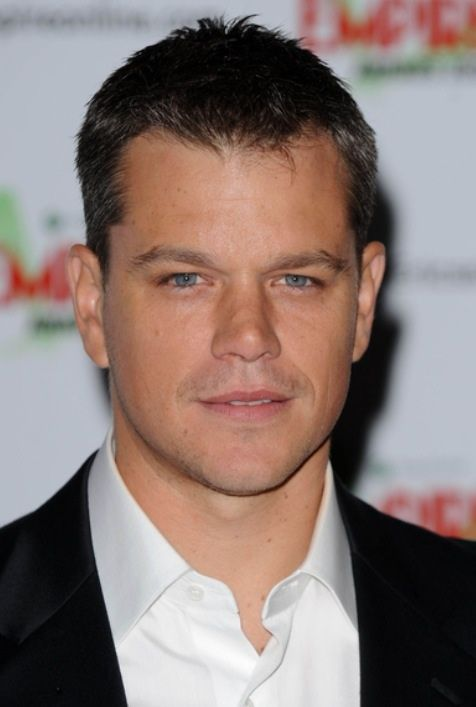 Matt Damon. For his creative talent.