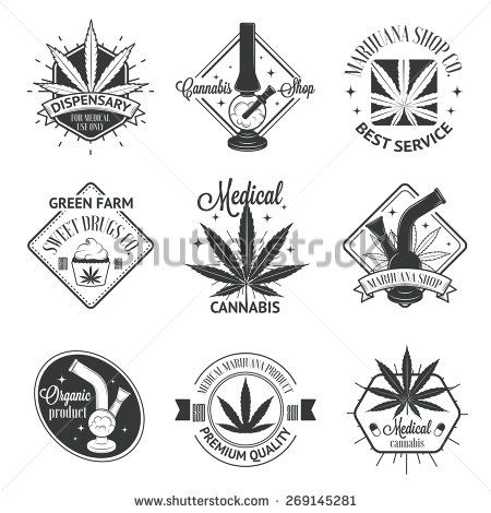 Cannabis Logos Design