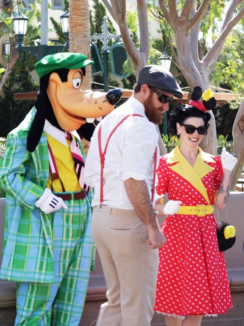I didn't even know this was a thing. How fun!   Dapper Day at Disneyland - Good Old Fashioned Fun