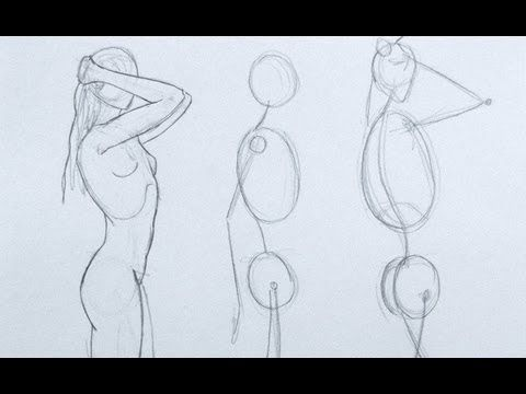 Line Art Figures : Best art images drawing reference