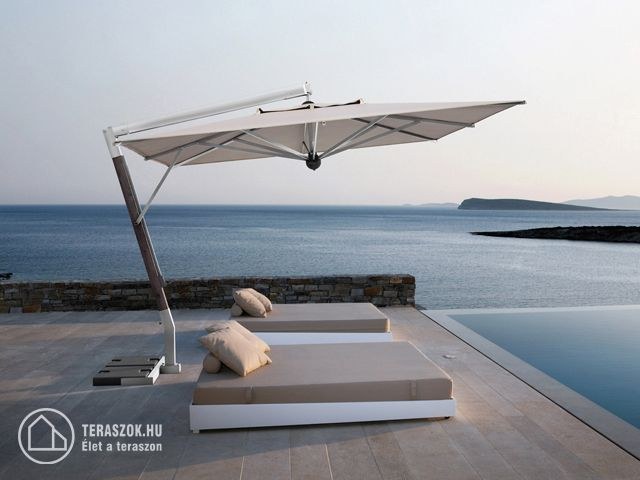 Scolaro GIOTTO oldaloszlopos napernyő