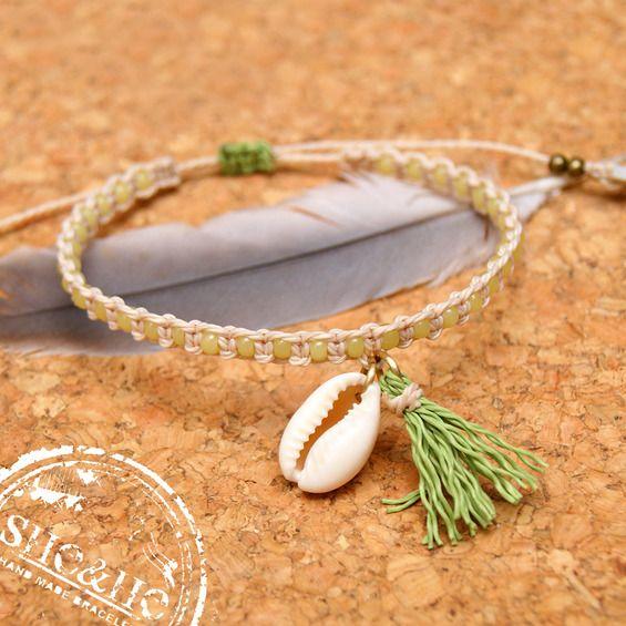 boho bracelet, seashell bracelet, sea bracelet, beach bracelet