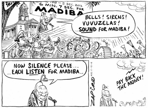Jacob Zuma Marks One Year Since Mandela's Death - 6 minutes and 7 seconds published in Mail & Guardian on 5 Dec 2014