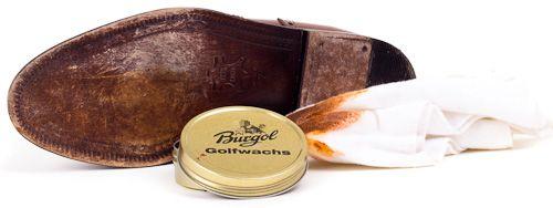 Golfwachs für geklebte Ledersohlen