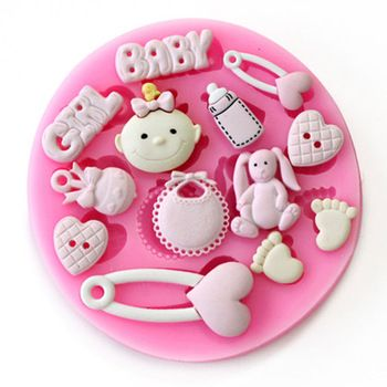 3D Silicone Fondant Mold For Cake Decoration for Baby Shower Party //Price: $9.99 & FREE Shipping // #kid #kids #baby #babies #fun #cutebaby #babycare #momideas #babyrecipes  #toddler #kidscare #childcarelife #happychild #happybaby