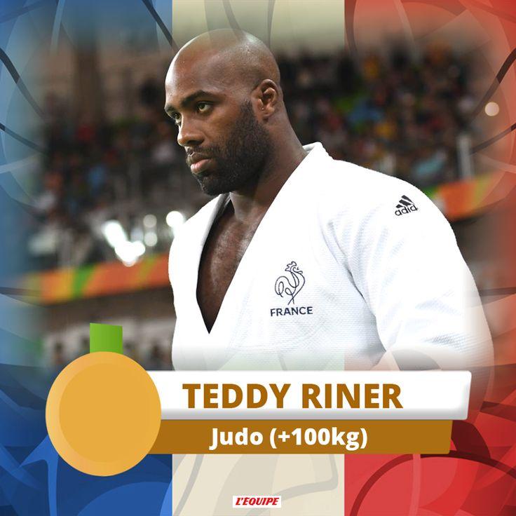 Teddy Riner - Judo - J.O. Rio 2016