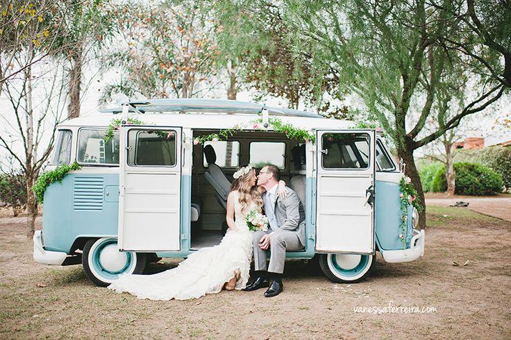 #kombi #wedding #miniwedding #kombiazul #vintage #session #photo #yolancris #KOMBI