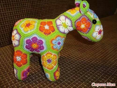 Amigurumis Caballitos A Crochet : Best crochet como hacer un caballito de hexagonos images on