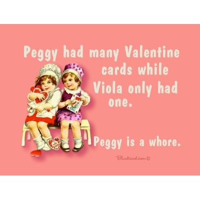 valentines card funny rhymes