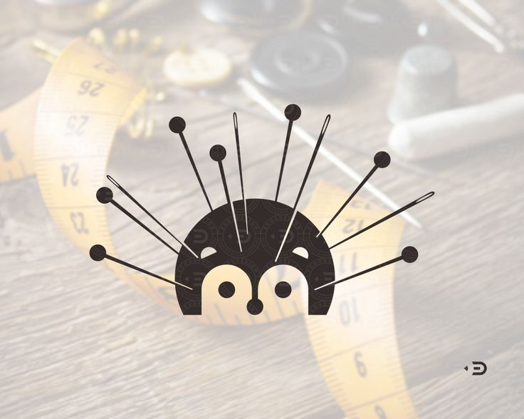 Mark for tailor by ©Edoudesign #production #tailoring #kid #kidwear #clothes #hedgehog #pin #edoudesign #logomaker #symbol #mark #logo #logotype #typetopia #typetopialogolove #calligritype #goodtype #designspiration #logoplace #logoinspirations #typografi #typematters #thedesigntip #thedailytype #typography #handmadefont #logodesigners #lettering #typeverything