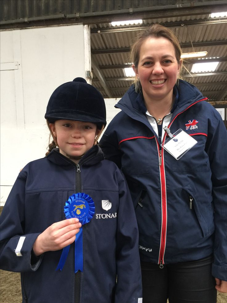 Lily at Stonar School Equestrian Opening Event with Kitty King