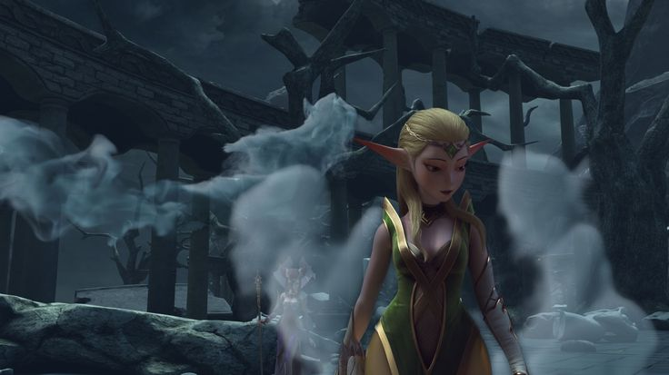 Nerwin, the Elven Princess, from Dragon Nest: Warrior's Dawn